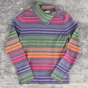 Jones New York Cowl Neck Sweater
